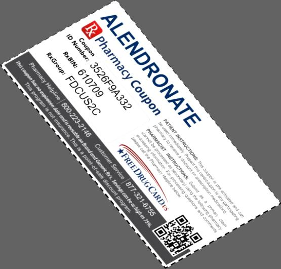 Alendronate 35 mg 12 tablets