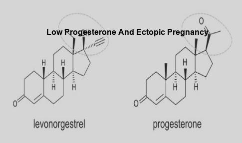 what causes low progesterone levels in pregnancy